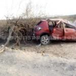 Murió un hombre a causa de un vuelco en Tolombón