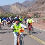 Más de 400 biciperegrinos cafayateños llegan a la Catedral de Salta