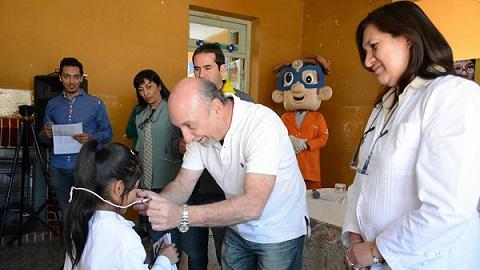 Más de 100 niños de Cafayate recibirán anteojos terapéuticos