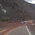 Por la lluvia se cortó la Ruta 68