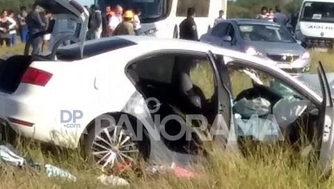 En trágico accidente murieron dos personas de Cafayate