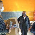 Inició la distribución de kits escolares en Cafayate