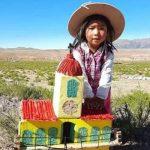 La foto de una niña sancarleña con un cabildo que conmovió a todos y se volvió viral