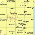 Dos temblores en Cafayate en menos de dos horas