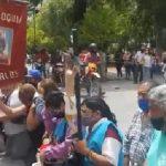 Plenos de emoción y fe, los peregrinos de San Carlos llegaron a la Catedral de Salta