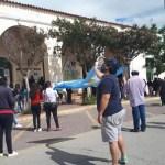 Protesta en la Municipalidad de Cafayate por falta de agua potable