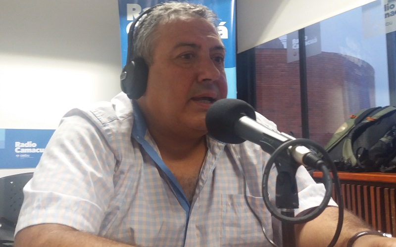 Entrevista con Fernando Iraola, noticias y deportes en Camacuá y Reconquista