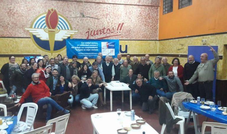 Los festejos por los 75 años de AEBU en Artigas
