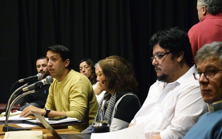 Discusión y participación en Junta de Delegados del BROU