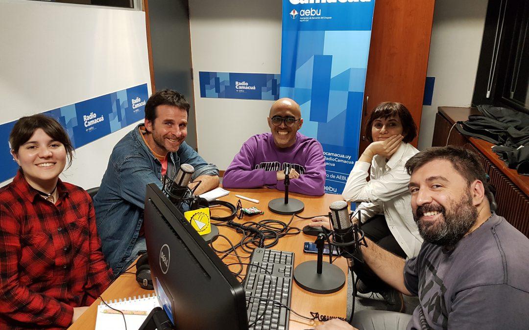 Entrevista a Rosario Bléfari y Dani Umpi en El Triángulo Obtuso