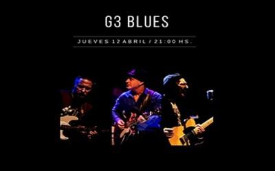 G3 Blues en Sala Camacuá