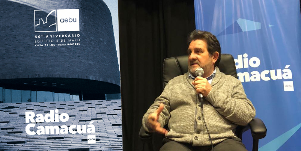 Eduardo «Lalo» Fernández y los 50 Años del Edificio 5 de Mayo / Sede de AEBU