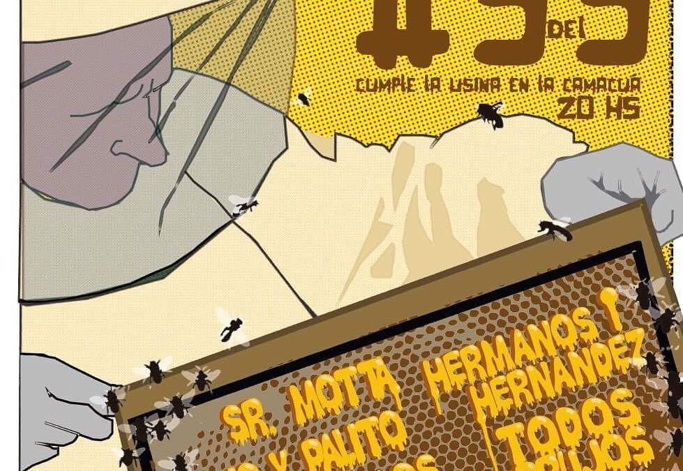 La Trama: Usina #99 celebra con varios artistas este domingo