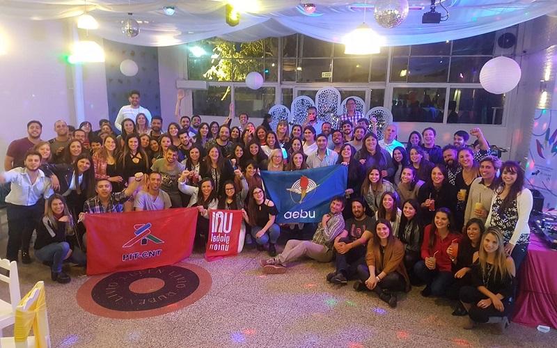Jóvenes de AEBU celebraron el año y miran para adelante
