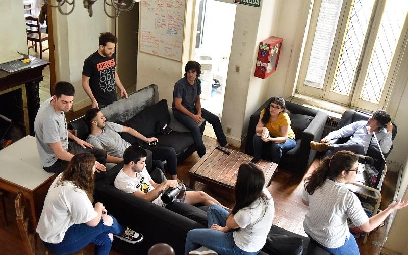 Hogar estudiantil de AEBU ya prepara la generación 2019