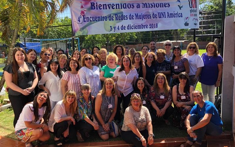 Red de mujeres de UNI Américas cerró el año en Argentina