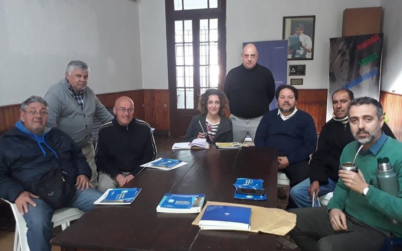 La Junta Departamental de Paysandú recibe delegación de AEBU