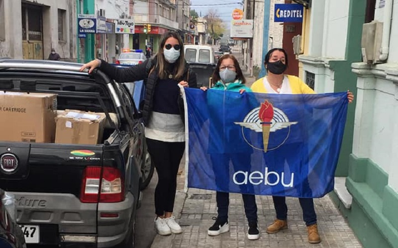 Seccional de AEBU Minas llevó solidaridad a los pueblos más olvidados de Lavalleja