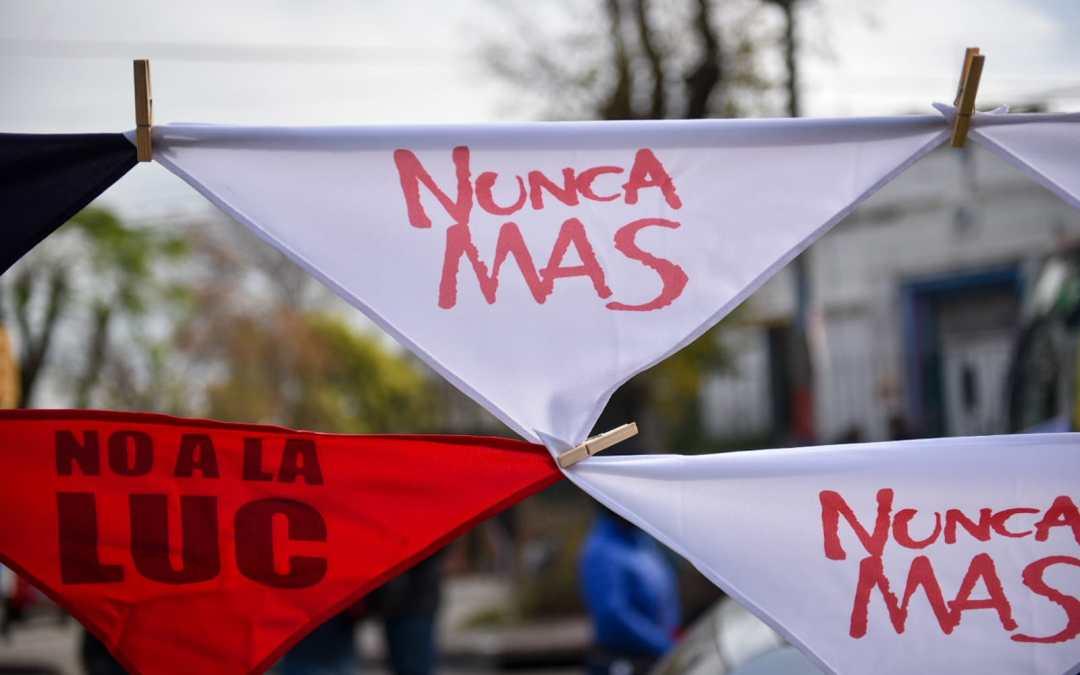A 47 años del golpe de Estado y la huelga general: movilización pidió nunca más terrorismo de estado