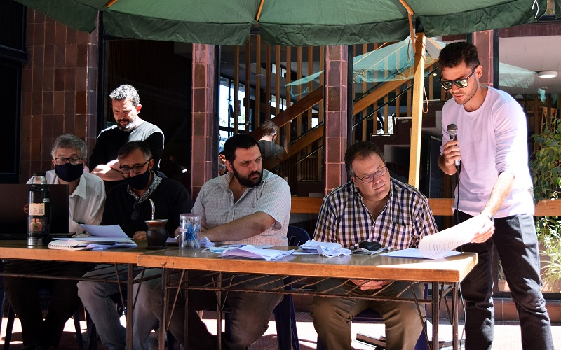 Junta de Delegados evaluó críticamente estado del conflicto de Banca Oficial