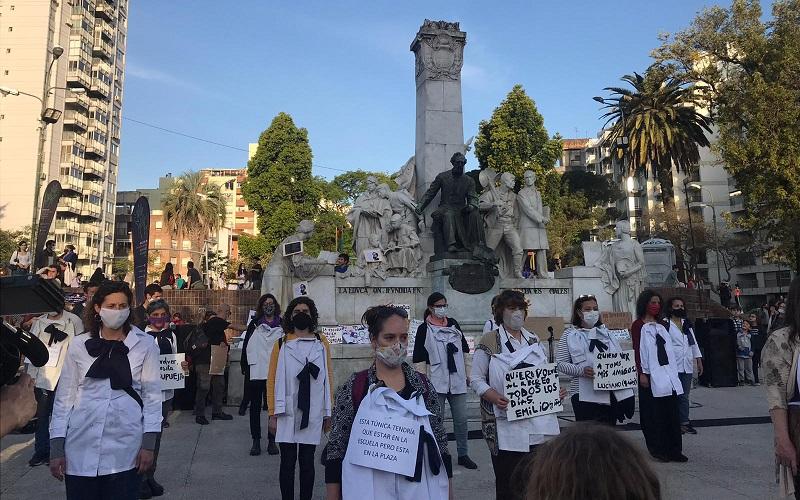Familias organizadas de la Escuela Pública reclama por presencialidad plena