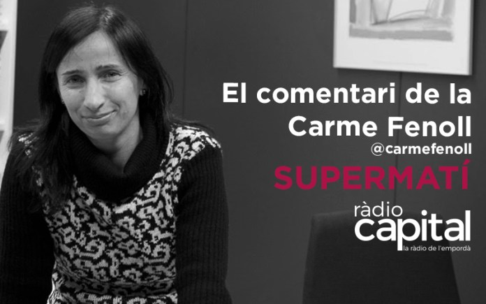 La Carme Fenoll és la Cap del Servei de Biblioteques de la Generalitat de Catalunya