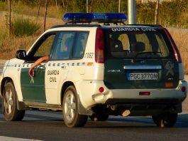 Un vehicle de la Guàrdia Civil a una imatge d'arxiu