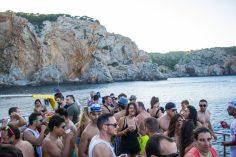Ambient de la festa Sunset Boat Party