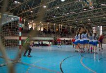 Partit de la temporadà anterior del Club Handbol Garbí Femení | Pau Punseti