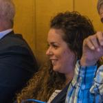 Mònica Tauste, regidora de Palafrugell, el passat 22 de febrer de 2018