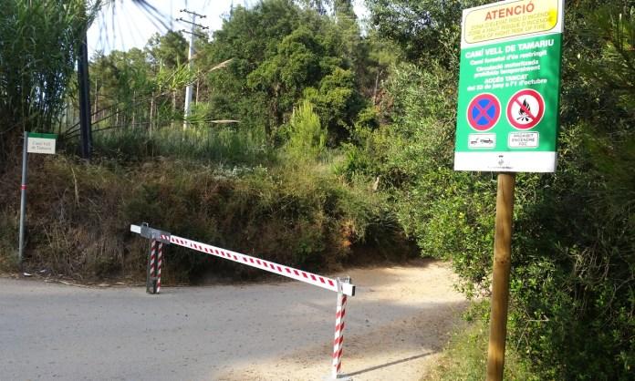 Camí Vell de Tamariu a Begur   Imatge de l'Ajuntament de Begur