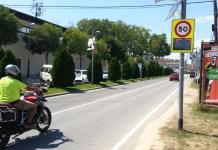 Radar mòbil a Santa Cristina d'Aro