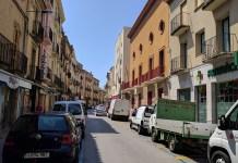 Reforma del carrer Ample de la Bisbal