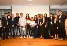 Moment de l'entrega dels Premis a les Escoles Verdes a Palafrugell | Imatge de Paco Dalmau