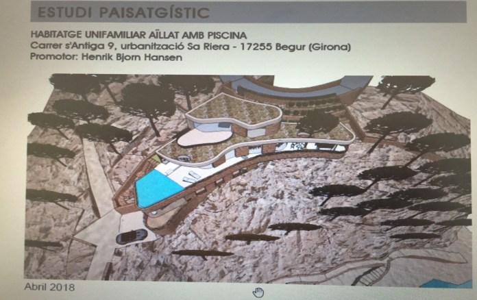 Imatge virtual de l'immoble a la Cala Port des Pi