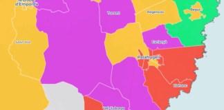 Resultats Eleccions Municipals 2019 al Baix Empordà