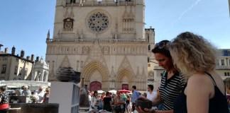 Representació de la Bisbal d'Empordà als Tupiniers du Vieux Lyon | Imatge de l'Ajuntament de la Bisbal