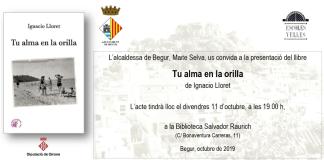 """privat:-ignacio-lloret-presentara-a-begur-el-seu-darrer-llibre-""""tu-alma-en-la-orilla"""""""