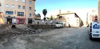 privat:-l'ajuntament-inicia-els-treballs-de-transformacio-de-l'actual-parcella-del-carrer-sant-pere-en-un-nou-espai-verd-multifuncional