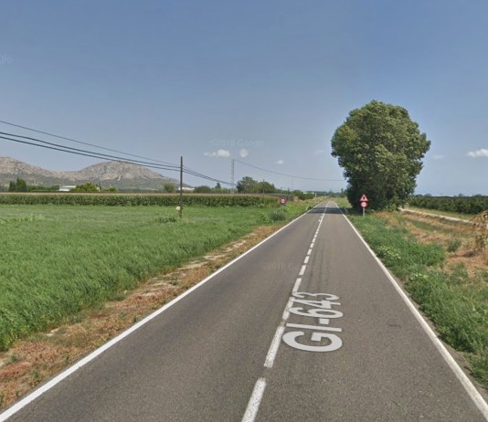 GI-643 - Carretera de Torroella a Serra de Daró, passant per Gualta