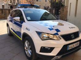 Cotxe patrulla de la policia Local de la Bisbal d'Empordà   Imatge de l'Ajuntament