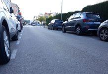 Rodes punxades al carrer Àngel Guimerà   Imatge de l'Ajuntament de Palafrugell