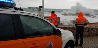 Protecció Civil a Begur durant el temporal Glòria | Imatge de Protecció Civil Begur