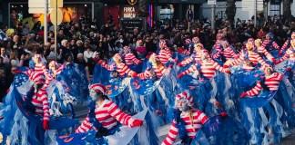 Rua del carnaval de Castell-Platja d'Aro
