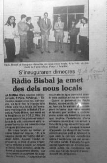 Radio Bisbal_Passeig