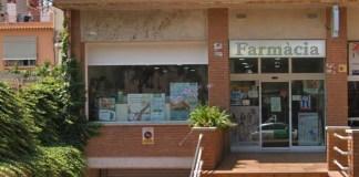 Farmàcia Jaume Llorente a Sant Feliu de Guíxols | Imatge de Google Maps
