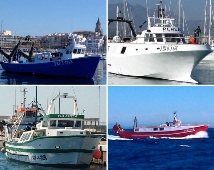Les quatre embarcacions de Palamós que han donat 8.000 euros per lluitar contra el coronavirus | Imatge de l'Ajuntament de Palamós