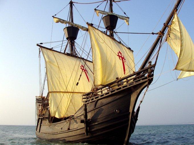 Rèplica de la caravel·la Nao Victoria | Imatge de l'Ajuntament de Palamós