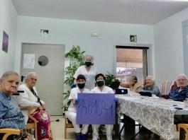 Residència Zoilo Feliu a la Bisbal d'Empordà amb la recaptació de la Penya Blaugrana Monells
