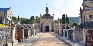 El Cementiri de Sant Feliu de Guíxols en una imatge arxiu